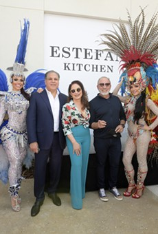 Gloria and Emilio Estefan are opening a restaurant at Margaritaville and closing Bongos at Disney Springs