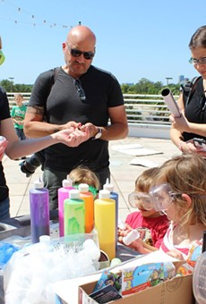 Orlando Science Center's annual Mess Fest is back and slimier than ever