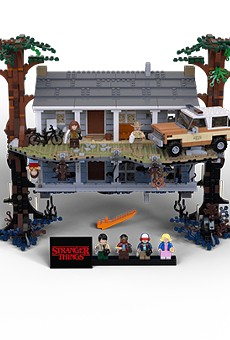 You can now pick up the 'Stranger Things' LEGO set at Disney Springs