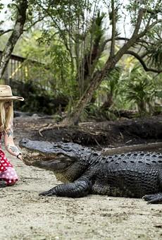 Gatorland Crocodilian Enrichment Coordinator Savannah Boan