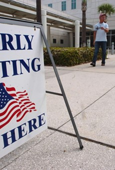 Early voting in Florida shows how tight this race can still be