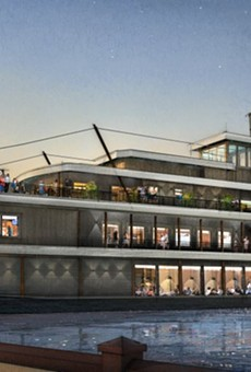 See new renderings of Disney's Paddlefish Restaurant, opening this winter