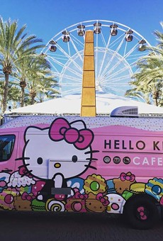 Hello Kitty Cafe truck will be at Florida Mall on Saturday, Oct. 29