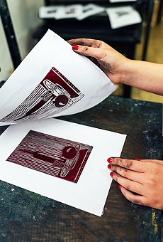 A&H Maitland lets you do your own printmaking at an all-day Culture Pop party