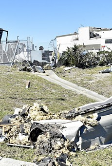 Hurricane Michael ripped through Tyndall Air Force Base near Panama City, Florida.