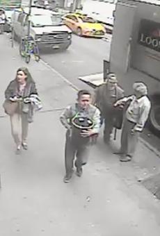 Authorities believe man who stole bucket of gold worth $1.6 million is hiding in Orlando