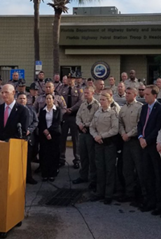 Gov. Rick Scott proposes a 5 percent pay increase for law enforcement officers