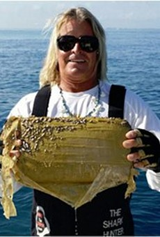 Fisherman catches brick of cocaine off the coast of Florida