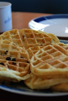 There might be a little salmonella in your Publix waffle mix