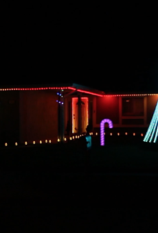 Orlando man knows a thing or two about exterior illumination