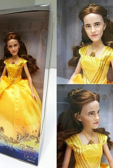 Disney's new Emma Watson 'Beauty and The Beast' doll is a terrible nightmare