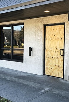 Someone broke into Ten10 Brewing Company last night
