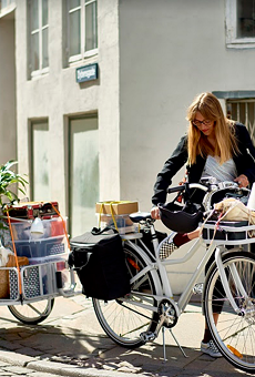 The IKEA bike and accessories, known as SLADDA, goes on sale in February.