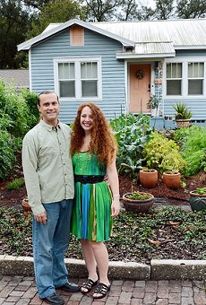 Orlando homeowners Jason and Jennifer Helvenston faced the front-yard garden fight in 2012.