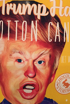 A store in Sanford is selling 'Trump Hair' cotton candy