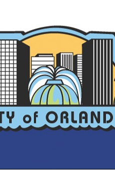 The current flag for the City of Orlando