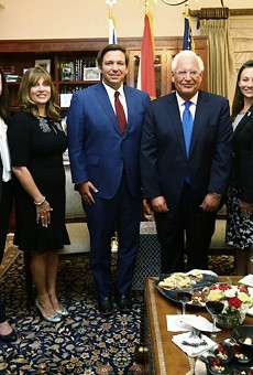 Gov. Ron DeSantis meets with the U.S. Ambassador to Israel, David Friedman