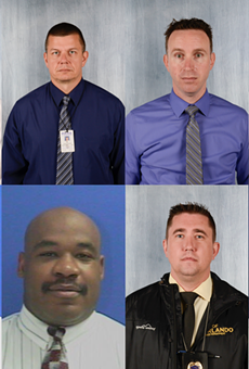 Seven Orlando police officers volunteered as test subjects for the pilot (only six participated in the second phase).