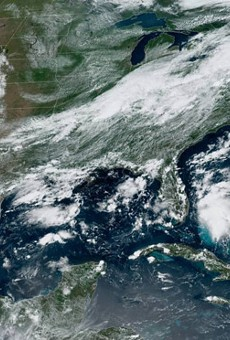 There's now a 60 percent chance a new tropical system will develop off the coast of Florida