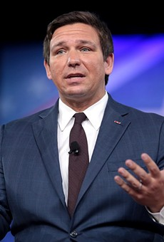 Florida Gov. Ron DeSantis finally gets an airplane