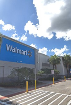 A Gibsonton Walmart was evacuated on Sunday.