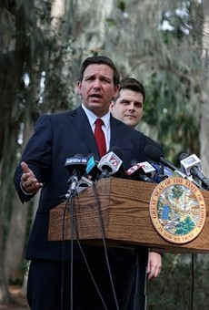 Florida Gov. Ron DeSantis cites racist 'recesses of the Internet' in recent attacks