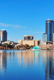 Lake Eola: It's where we store all of our swans