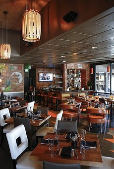 The interior of the former Mesa 21, now to become Russell's on Ivanhoe