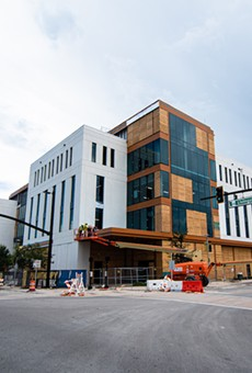 The Dr. Phillips Commons at the new UCF-Valencia downtown campus as it appeared on July 21