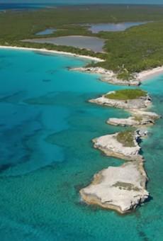 Lighthouse Point on the island of Eleuthera, Bahamas