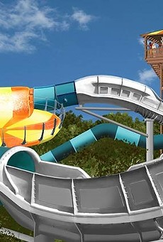 Water Country USA's Cutback Water Coaster