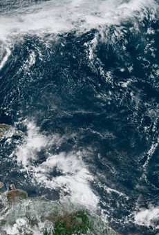 New tropical depression forming in the Atlantic is expected to become Hurricane Imelda