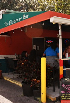 Orlando's famed Hideaway Bar bans smoking inside and on the front porch