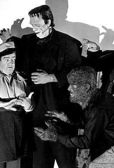Enzian and Winter Park team up for a screening of horror-comedy classic 'Abbott & Costello Meet Frankenstein' in Central Park