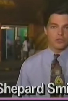 Former Fox News host Shepard Smith once worked for Channel 6, and covered GG Allin shitting on a stage