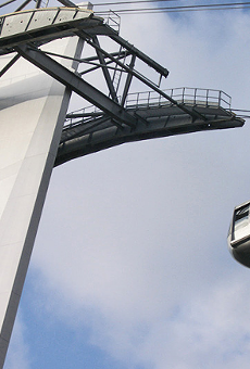There's a strong rumor that Disney World will be getting a massive gondola system