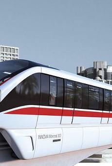 The INNOVIA 300 monorail