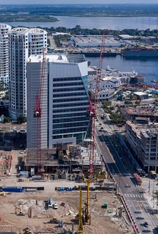 Tampa Bay Lightning owner Jeff Vinik's massive new Water Street Tampa project