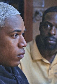 Kelvin Harrison Jr., left, and Sterling K. Brown