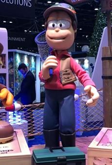 Mondays, amirite? Sally's Garfield attraction at IAAPA