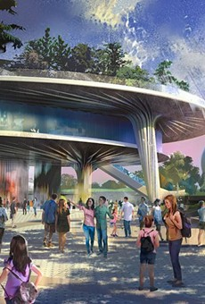 The new multi-level Festival Center heading to Epcot