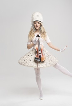 Pop violinist Lindsey Stirling comes to Orlando's Bob Carr for holiday-themed Warmer in the Winter tour