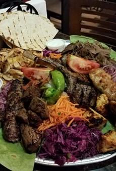 Lamb chops at Cafe 34 Istanbul