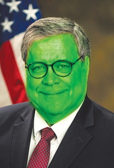 The Grinch who ate the Constitution: You're a mean one, Mr. Barr