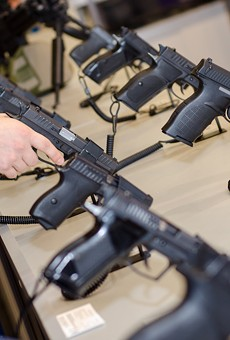 Florida's NRA-backed gun laws are drawing national attention, court briefs