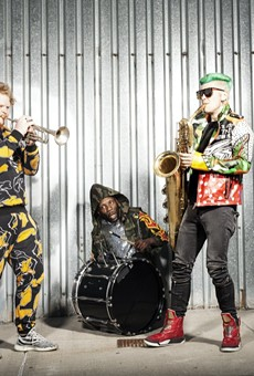 From busking to Beyoncé, it's been quite a trip for brasshouse trio Too Many Zooz