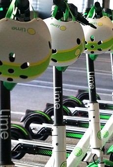 Lime rental scooters are finally unleashed upon Orlando
