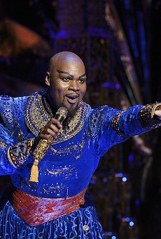Michael James Scott as Genie in Aladdin