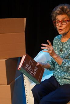 Eileen DeSandre as Ruth Westheimer in 'Becoming Dr. Ruth' at the Orlando Shakes