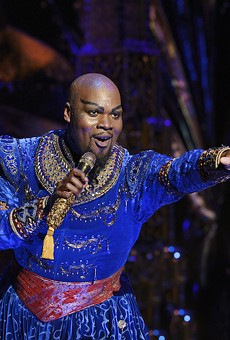 Orlando native Michael James Scott as the Genie